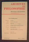 Archives_de_philosophie