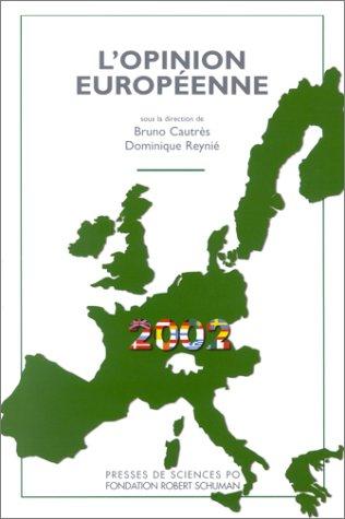 L'Opinion européenne en 2002