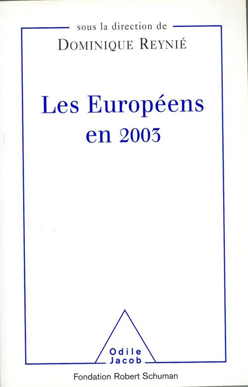 Les Européens en 2003